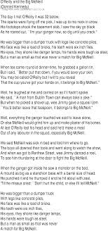 100 Big Truck Lyrics Irish Music Song And Ballad For O Reilly And The Mcneill