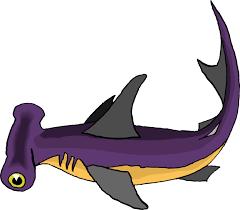 Hammerhead Shark Pumpkin Stencil by Whale Shark Clip Art 49