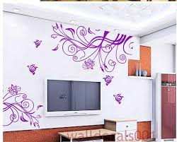 Wall Mural Decals Flowers by Vinyl Wall Decal Wall Sticker Flower Decal Room Decor Nature