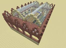 Minecraft Automatic Pumpkin Farm 1710 by Seegras Logbook Minecraft