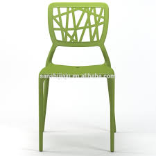 100 Side Dining Chairs Product Contemporary Hard Plastic Leisure Stackable Green