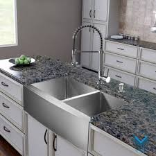 Overstock Stainless Steel Kitchen Sinks by Stainless Steel Sink U0026 Faucet Sets For Less Overstock Com