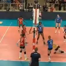 Volleyball Bundesliga Frauen Allianz MVT Stuttgart Schlägt VC