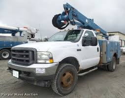 100 Bucket Trucks For Sale By Owner 2002 D F550 Super Duty XL Bucket Truck Item DA0625 SO