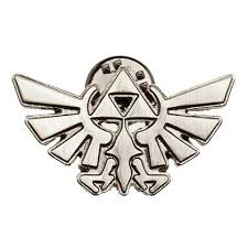 the legend of zelda triforce lapel pin for only 7 13 at