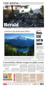 Everett Daily Herald May 30 2014 By Sound Publishing