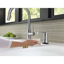 Delta Trinsic Kitchen Faucet by Delta Faucet 9159t Ar Dst Trinsic Arctic Stainless Pullout Spray