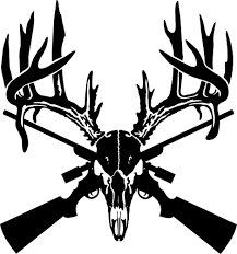 100 Hunting Decals For Trucks Deer Skull Gun Rifle Car Truck Window Wall Laptop Vinyl
