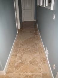 travertine floor tiles hallway novalinea bagni interior