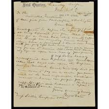 RARE SIGNATURE AND WAR TIME LETTER BY CAPTAIN GEORGE