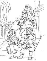 Printable Tangled Coloring Pages Me