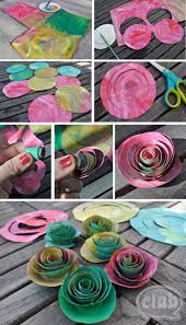 82 Best Rose Crafts Images On Pinterest