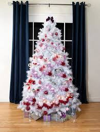 4ft Christmas Tree Sale by White Scandinavian Spruce Artificial Christmas Tree 6 5ft Tall