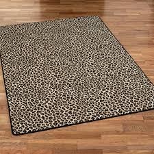 Cheetah Print Room Decor by Pink Leopard Print Rug Roselawnlutheran