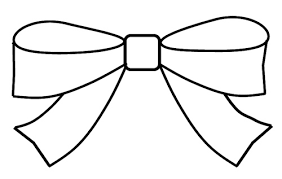 Free Coloring Pages Of Bows And Ribbons