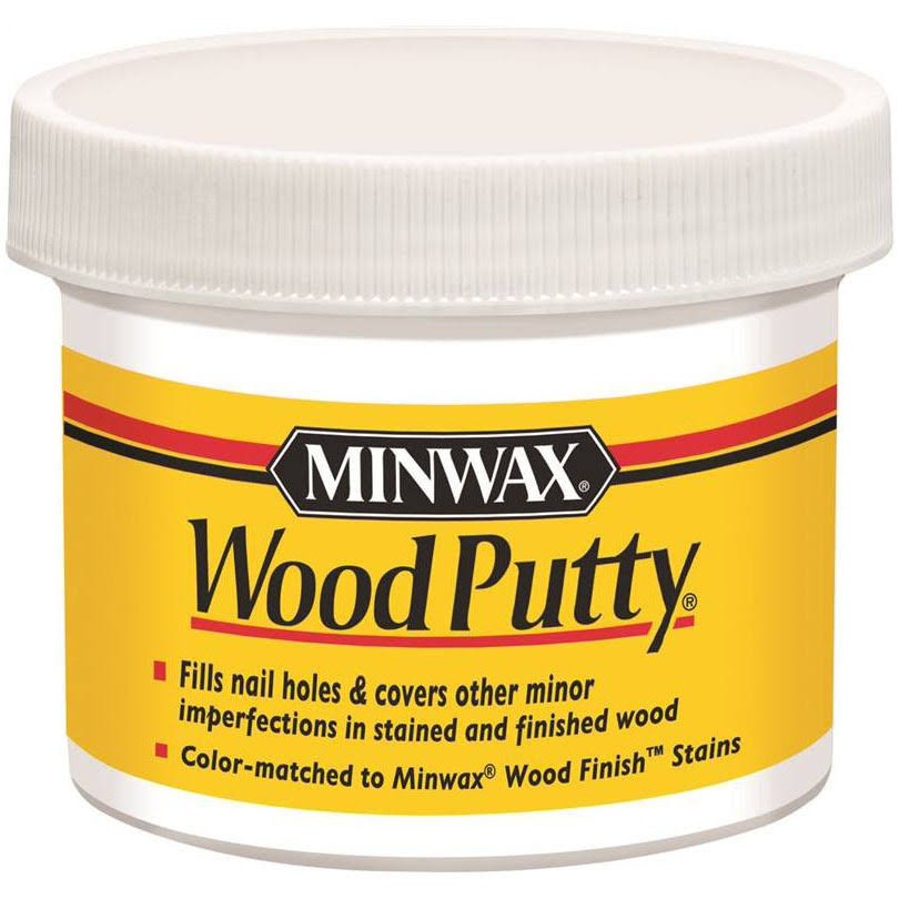 Minwax Wood Putty - White, 3.75oz