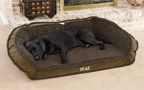 orvis tempur pedic deep dish dog bed shearling cover orvis