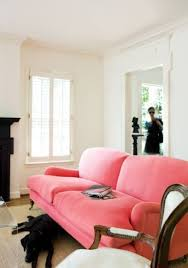 Sofa Pink by The Perfect English Roll Arm Sofa The Estate Of Things