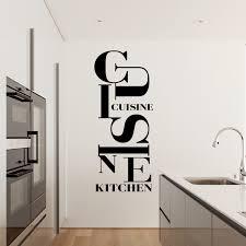 sticker design cuisine kitchen stickers cuisine textes et