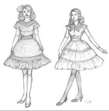 Dress Design Sketches Screenshot Thumbnail
