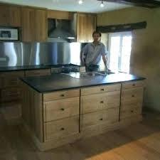 plan de travail cuisine bois brut cuisine bois massif pas cher caisson cuisine bois massif meuble