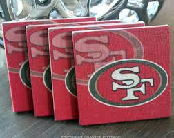 San Francisco 49ers Coasters