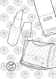 Coloriage Sac Chanel I Mademoiselle Stef