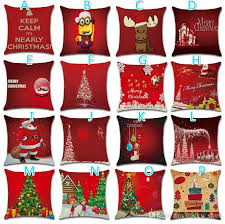 New Hot Christmas Santa Tree Crystal Ball Hold Pillow Cushion Cover Cushions For Wicker Furniture Outdoor Online From Rocky Store