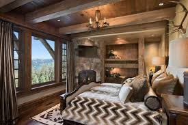 Rustic Style Bedrooms Photo