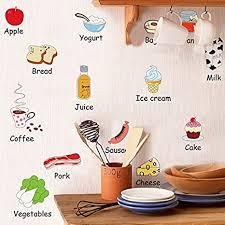 tianmin niedliche sticker kindheit bildung kühlschrank küche