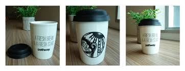 Three Shot Promo Photo3 The Artwork Featured On Our Reusable Coffee Cups