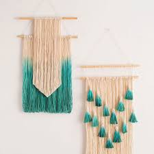 Dip Dyed String Wall Art