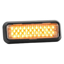 100 Strobe Light For Trucks Star Warning Systems DLXT121AA DLXT Series Amber LED