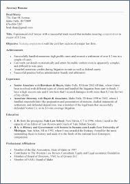 Resume Template Objective Summary Detail Examples Sample And
