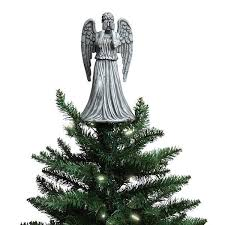 Doctor Who Weeping Angel Christmas Topper