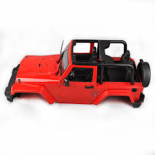 100 J And J Truck Bodies Hard Body Shell Canopy Eep RC 110 SCX10D90 Rock CRAWLER