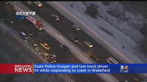 100 Tow Truck Games State Trooper Driver Hit By Vehicle On Interstate 95 In