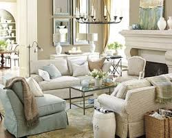 Blue And White Living Room With Franois Co Mantel A Lovely Space