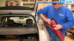 how to install replace taillight and bulb ford focus zx5 00 04