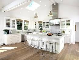 pendant light vaulted ceiling kitchen lighting ideas sloped