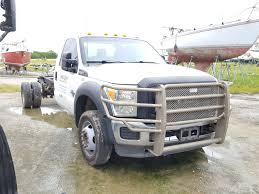 Salvage 2014 Ford F550 SUPER Truck For Sale