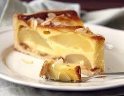 vanille birnen torte