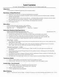 Operations Management Resume Examples New Project Skills Unique Of
