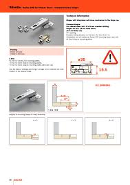 Salice Italy Cabinet Hinges by Catalog Salice Silentia Di Arturo Salice Furniture Hardware