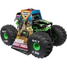 100 Monster Truck Remote Control Jam Mega Grave Digger RC
