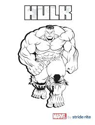 Hulk Smash Printable Coloring Pages And The Agents Of Colouring Pictures Print Free Kids Incredible Invigorate