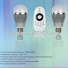 1remote controller with 2pcs 6w led bulbs warm white color