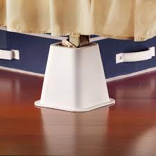 bedroom metal bed risers adjustable bed risers bed risers target