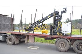 Truck-mounted Forestry Crane / Knuckle Boom - 74N Series ...