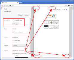 Printing From Google Chrome